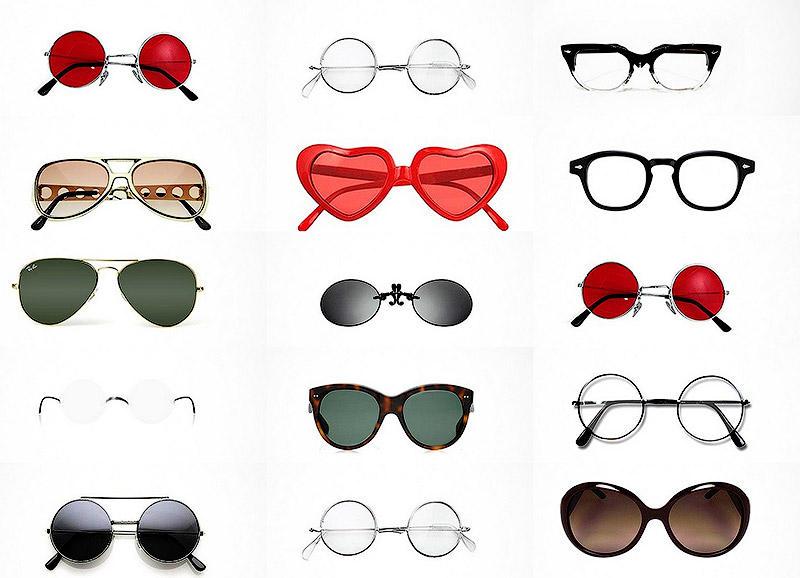 Культовые очки, идеально символизирующие известных личностей
