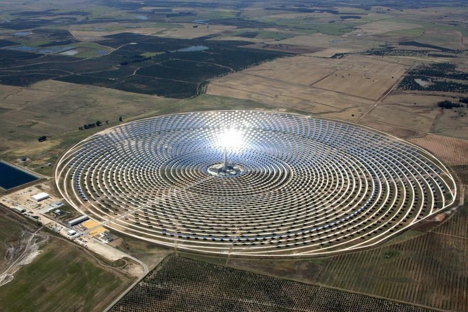 Gemasolar01 Gemasolar   первая в мире круглосуточная гелиоэлектростанция