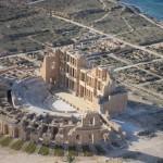 Побережье Ливии с воздуха