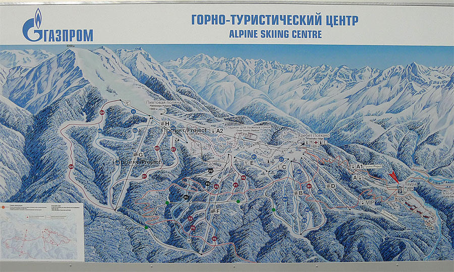 Sochi21 50 самых актуальных фотографий большой Олимпийской стройки в Сочи