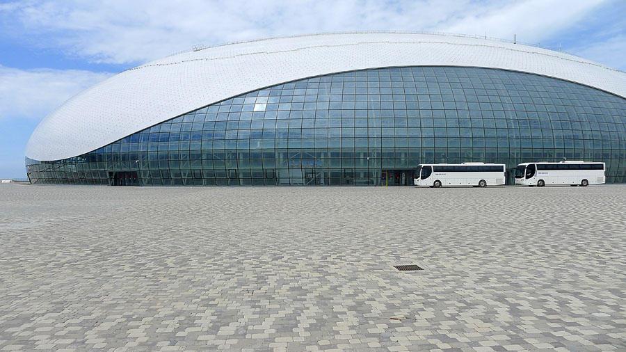 Sochi291 50 самых актуальных фотографий большой Олимпийской стройки в Сочи