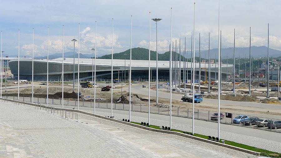 Sochi43 50 самых актуальных фотографий большой Олимпийской стройки в Сочи