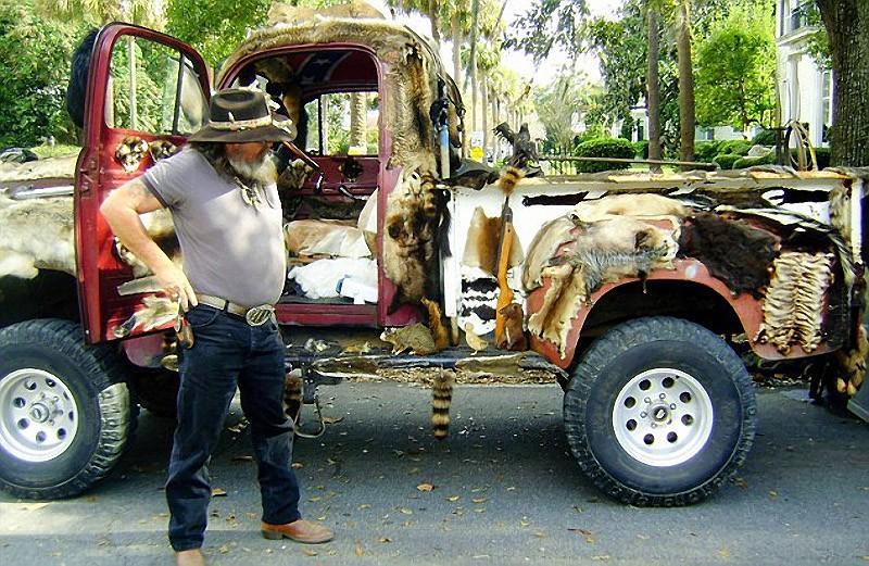Таксидермистский грузовичок