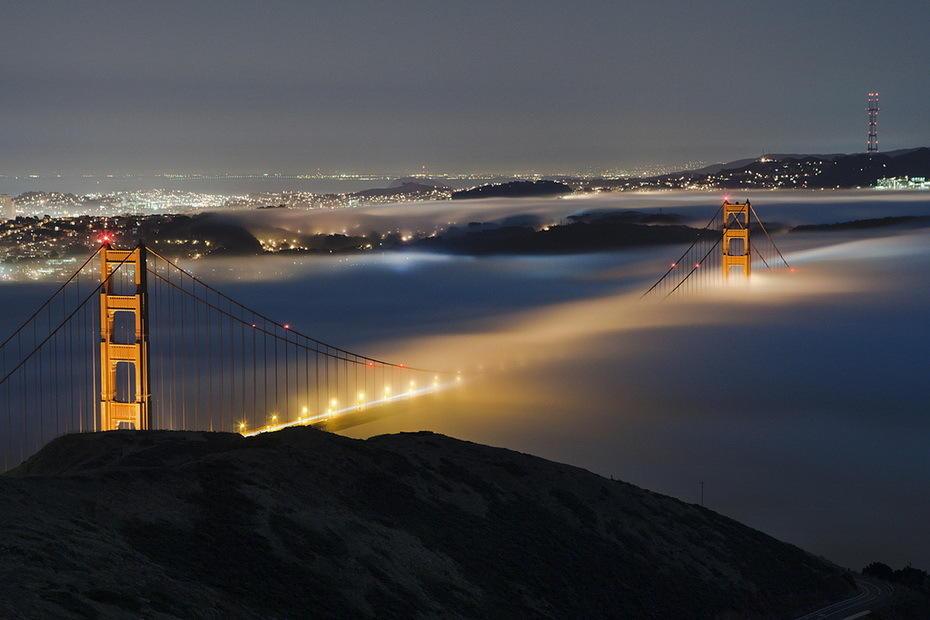 Terence Chang 1 Сан Франциско в тумане