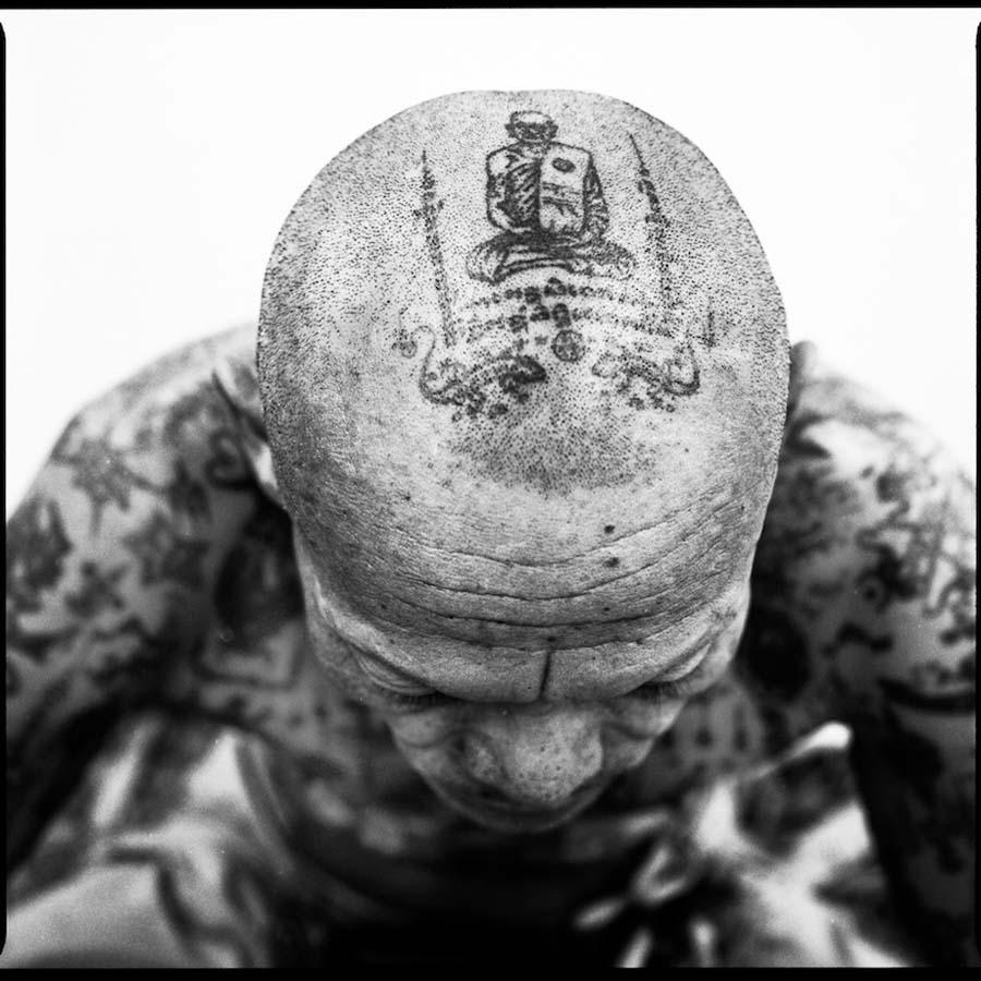 Thailand's Magical Tattoos 6 Магические татуировки Таиланда