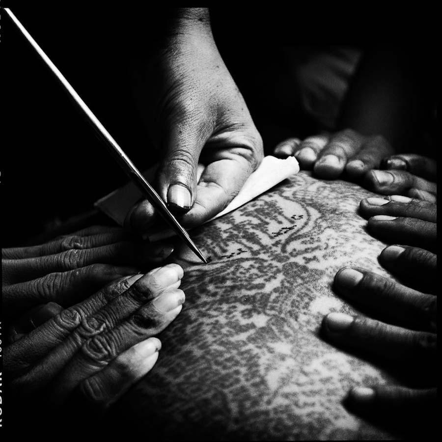 Thailand's Magical Tattoos 8 Магические татуировки Таиланда