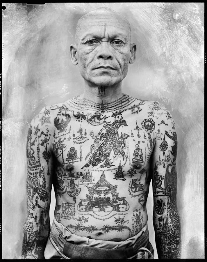 Thailand's Magical Tattoos 9 Магические татуировки Таиланда