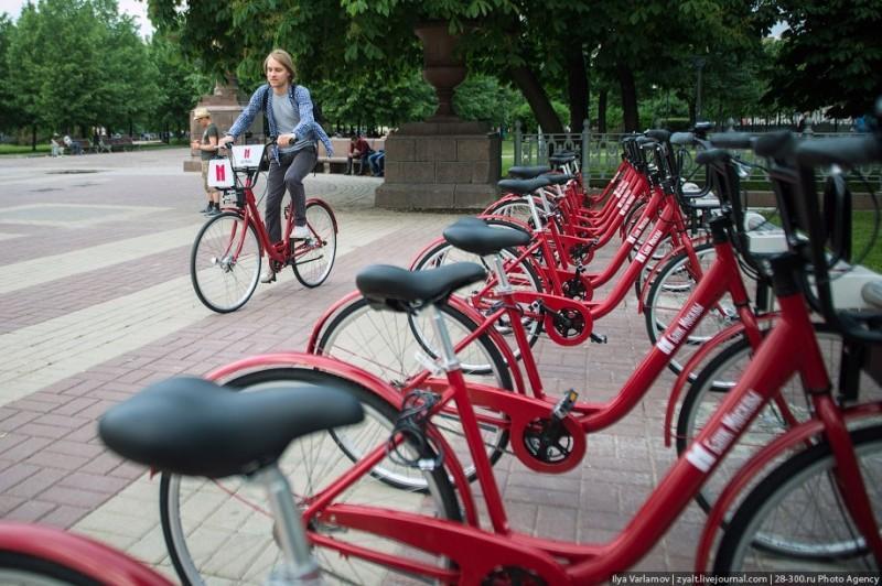 В Москве открылся городской велопрокат