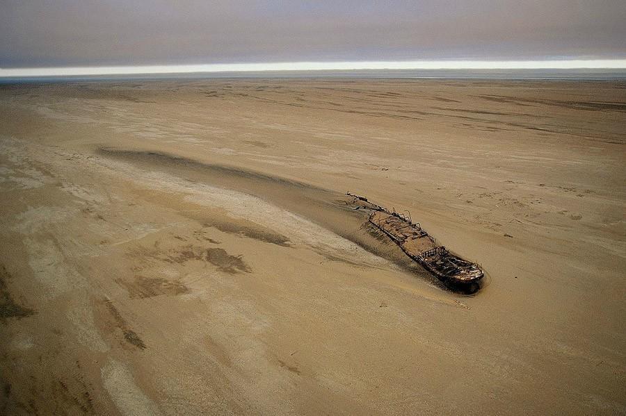 desertship04 Самый знаменитый корабль в пустыне