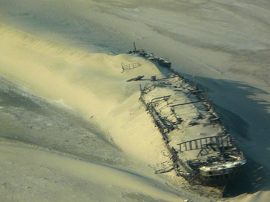 desertship05 Самый знаменитый корабль в пустыне