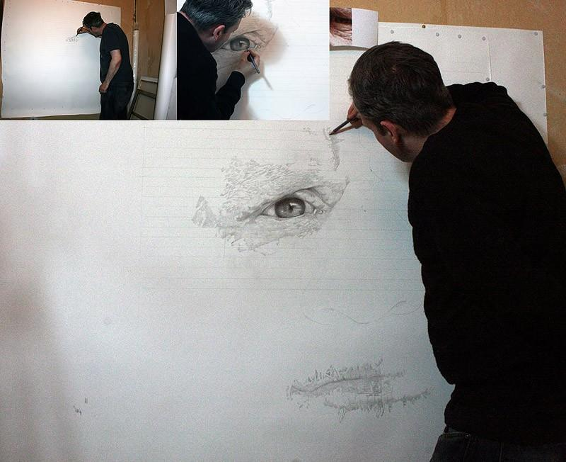 drawings04 Incredibly realistic paintings like photographs