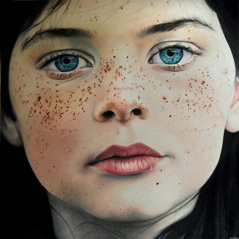 drawings35 Incredibly realistic paintings like photographs