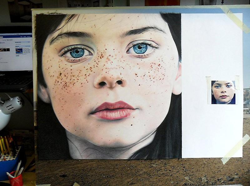 drawings36 Incredibly realistic paintings like photographs