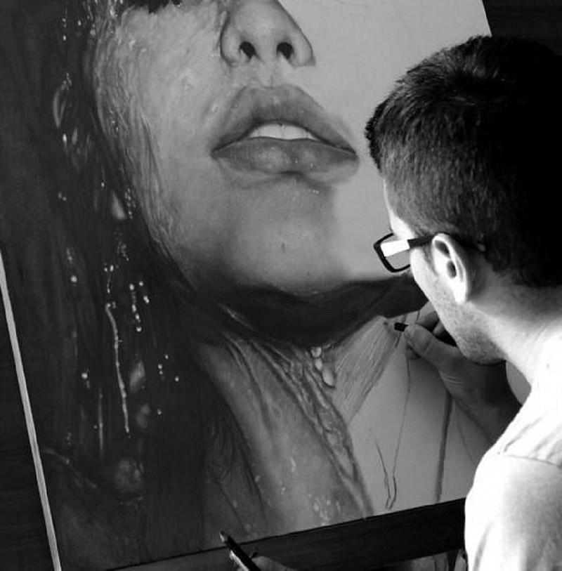 drawings41 Incredibly realistic paintings like photographs