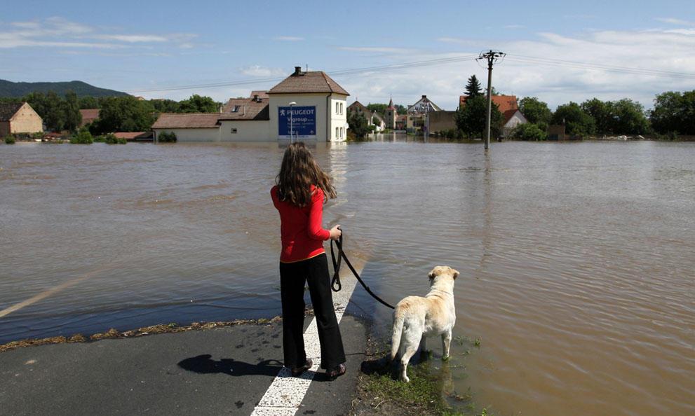 flooding291 Наводнение в Центральной Европе