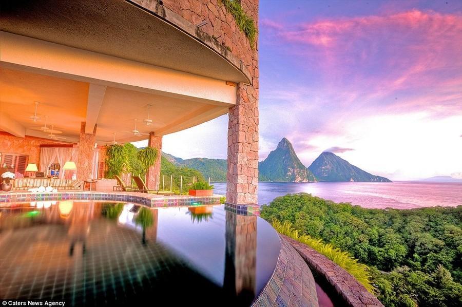 hotels01 Дюжина лучших видов из отелей мира