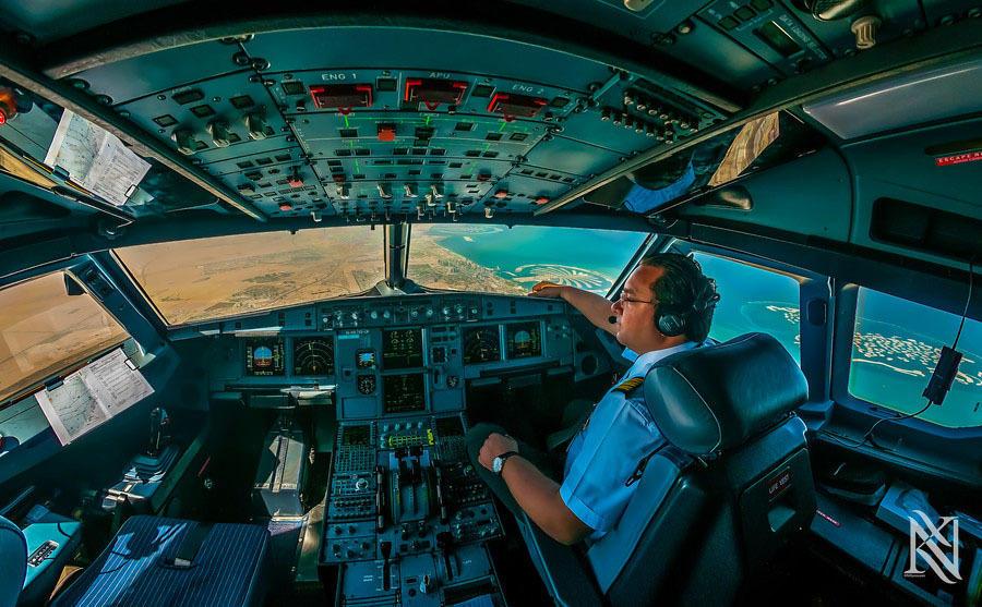kabina pilotov 3 Удивительные фотографии из кабины пилота