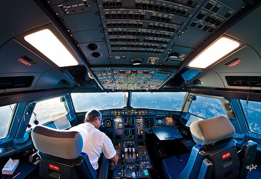 kabina pilotov 4 Удивительные фотографии из кабины пилота