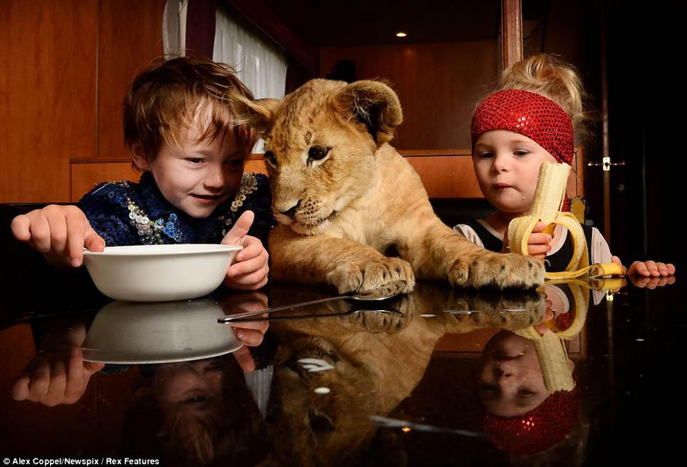 kidsanimals03 10 самых трогательных историй общения детей и животных