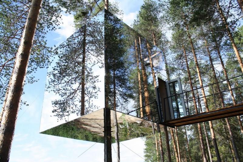 ontrees01 800x532 10 самых удивительных отелей на деревьях