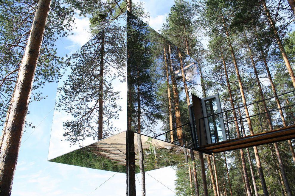 ontrees01 10 самых удивительных отелей на деревьях