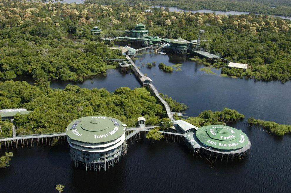 ontrees08 10 самых удивительных отелей на деревьях
