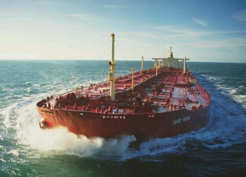 Самый большой танкер вмире