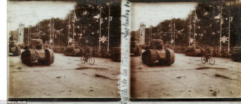 Стереоскопические снимки Первой мировой войны, найденные на чердаке