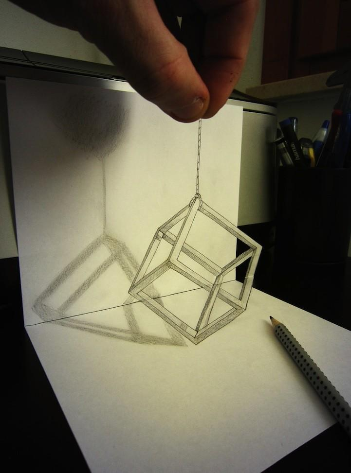 Anamorphdrawings03 Умопомрачительные 3D рисунки