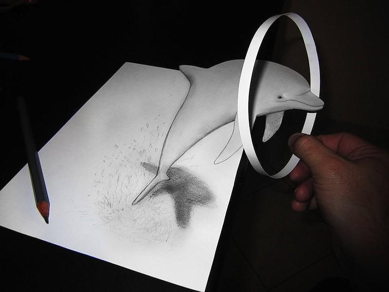 Anamorphdrawings10 Умопомрачительные 3D рисунки