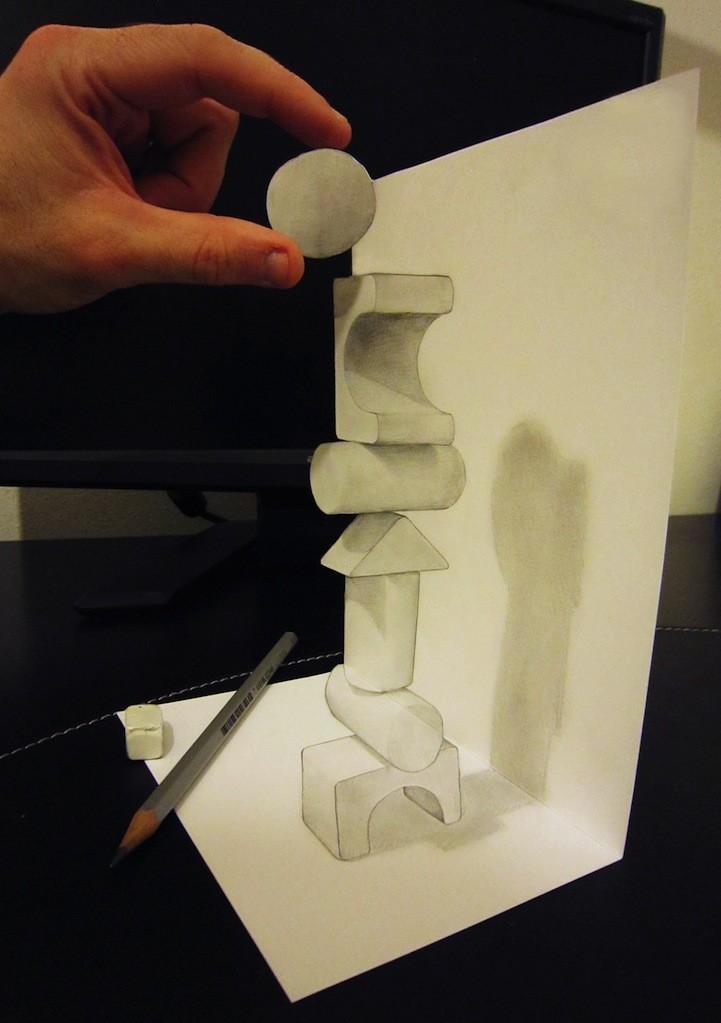 Anamorphdrawings11 Умопомрачительные 3D рисунки
