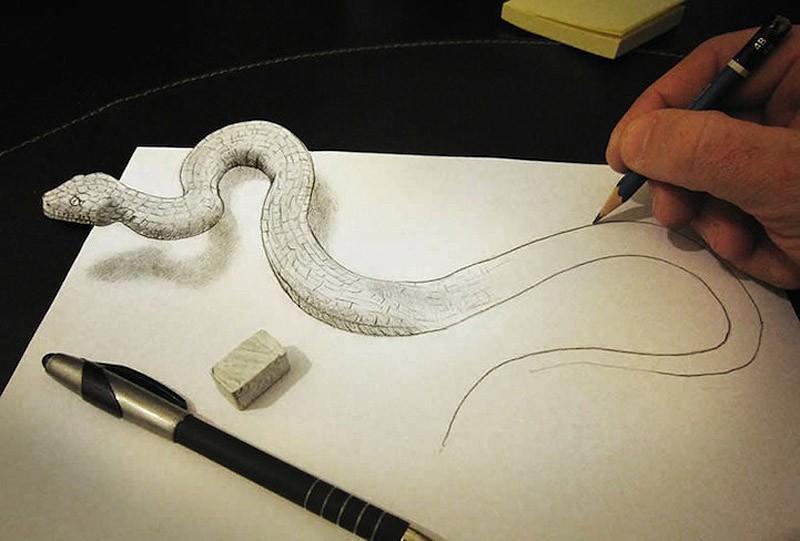 Anamorphdrawings12 Умопомрачительные 3D рисунки