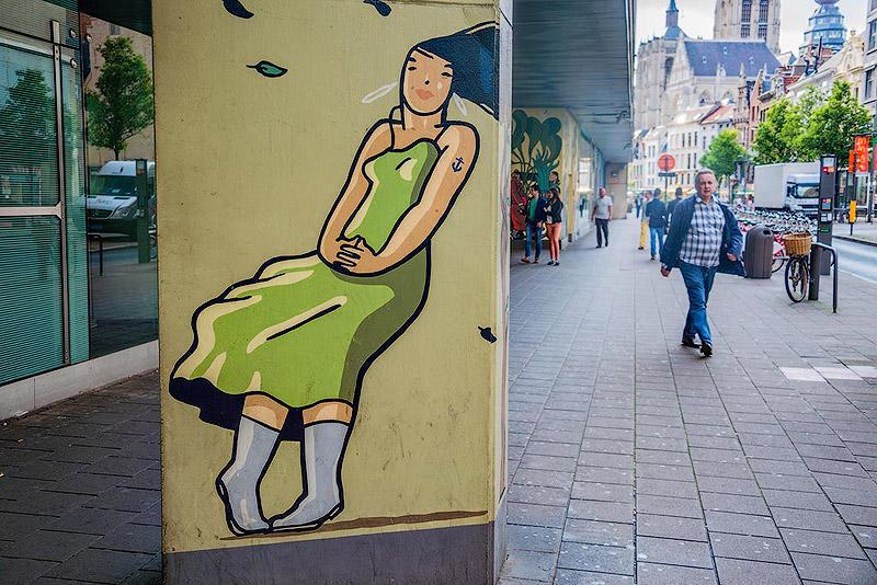 Фотопрогулка по Антверпену