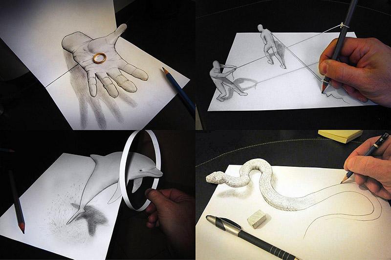 BIGPIC45 Умопомрачительные 3D рисунки