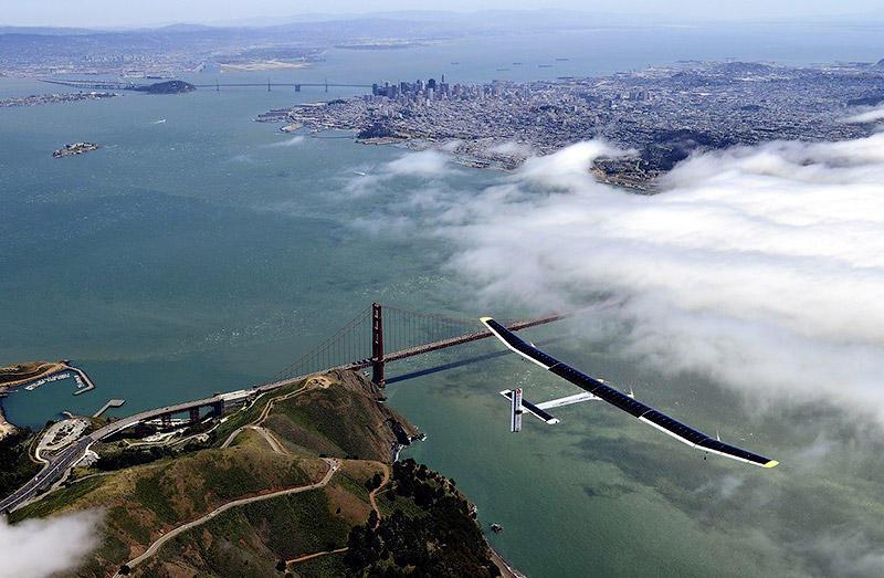 Solar Impulse завершил свой исторический полет надСША