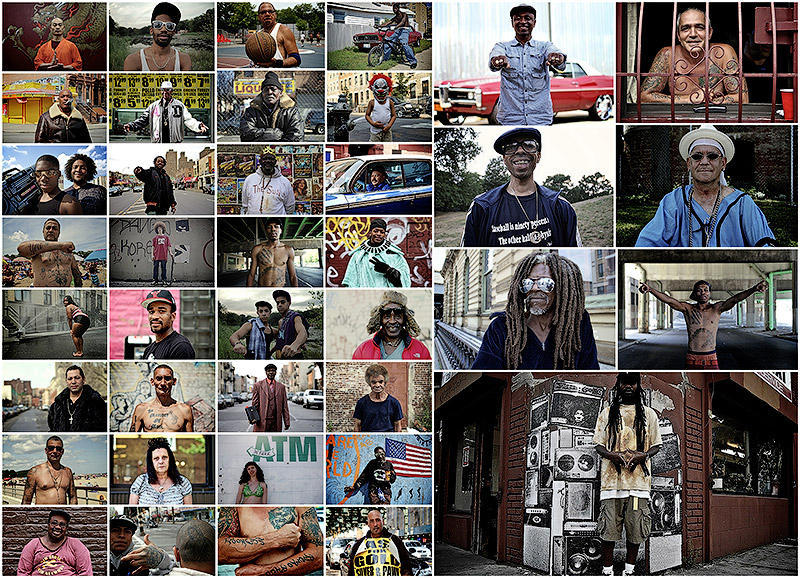 Колоритные жители Бруклина