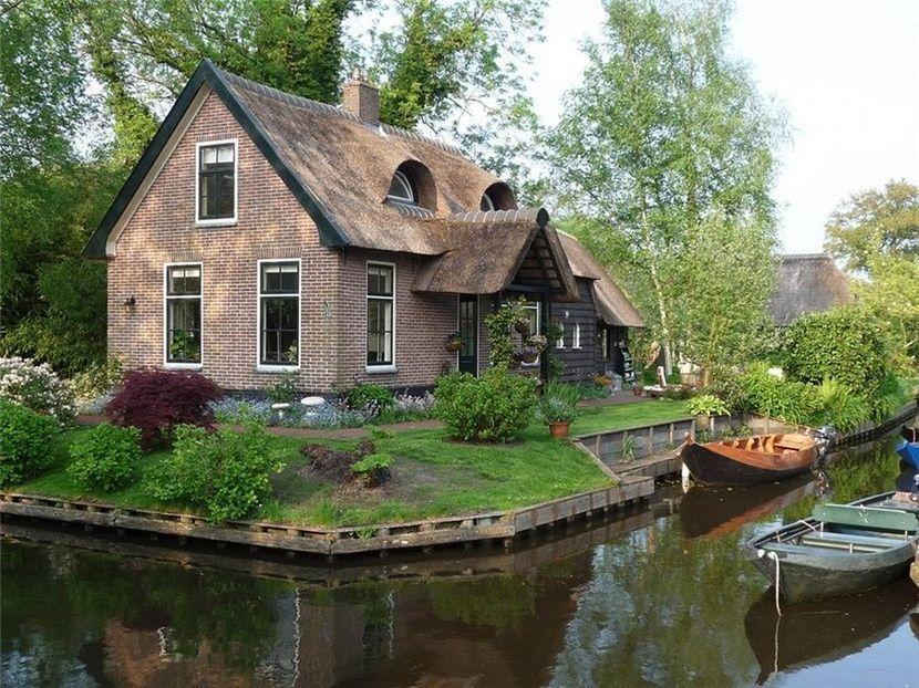 Giethoorn14 Гитхорн: деревня, где нет дорог