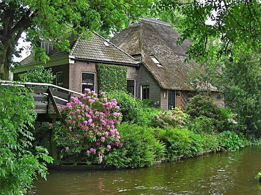 Giethoorn37 Гитхорн: деревня, где нет дорог