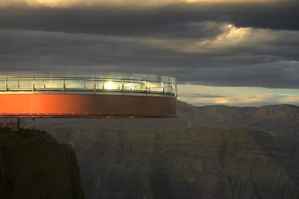 GrandCanyon04 Головокружительная достопримечательность: стеклянная площадка над Гранд Каньоном