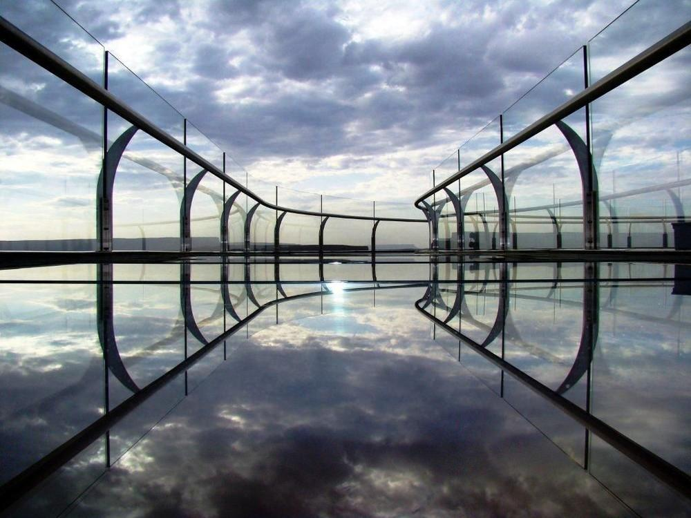 GrandCanyon05 Головокружительная достопримечательность: стеклянная площадка над Гранд Каньоном