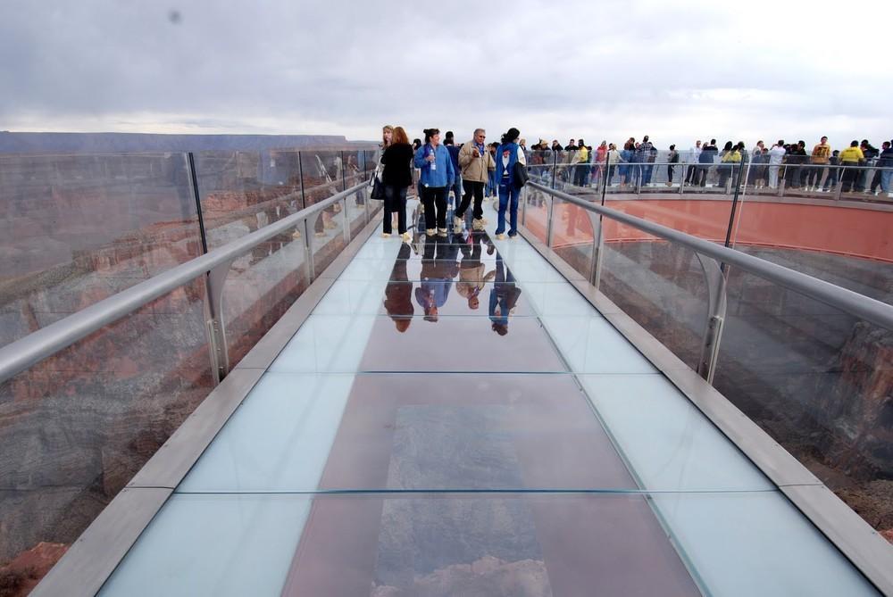 GrandCanyon09 Головокружительная достопримечательность: стеклянная площадка над Гранд Каньоном