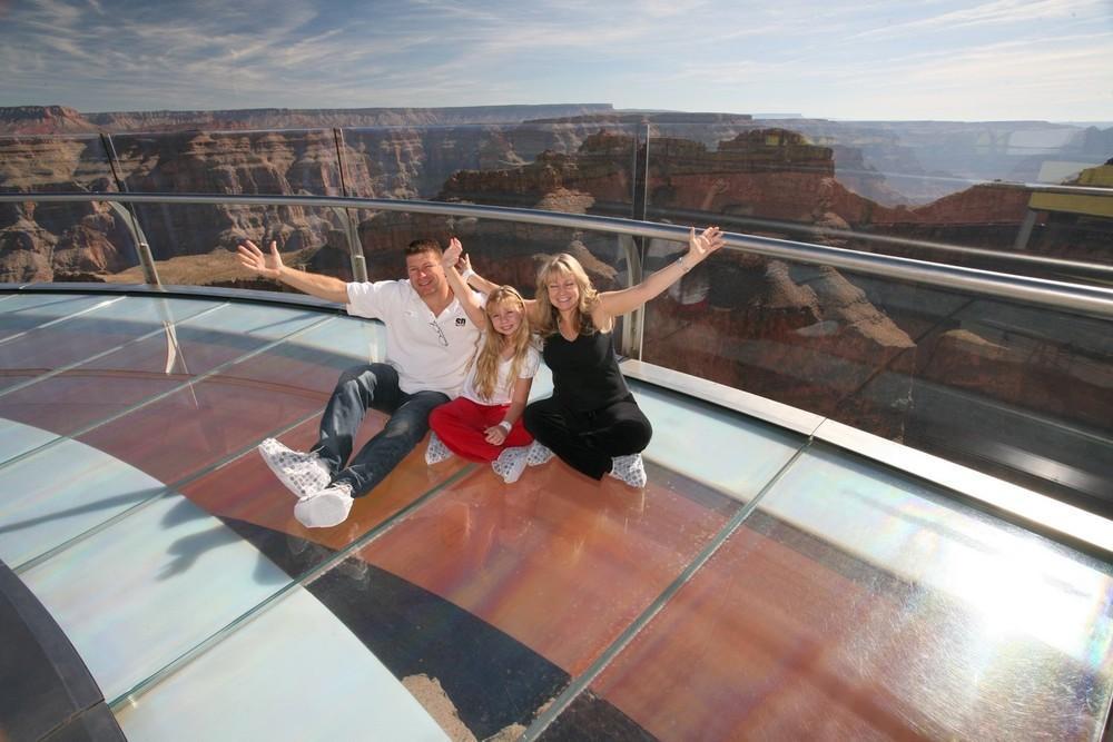 GrandCanyon12 Головокружительная достопримечательность: стеклянная площадка над Гранд Каньоном
