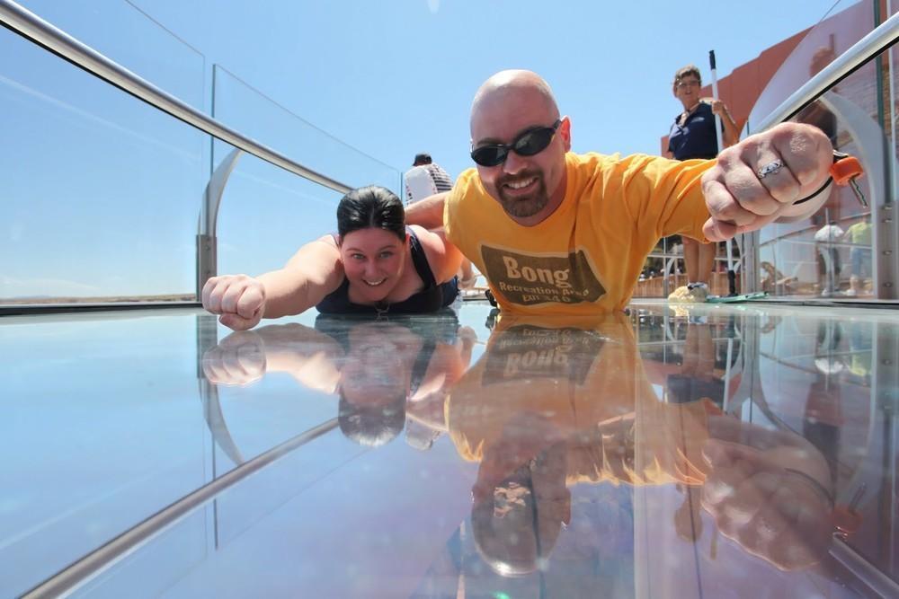 GrandCanyon13 Головокружительная достопримечательность: стеклянная площадка над Гранд Каньоном