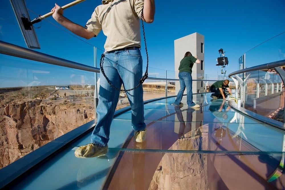 GrandCanyon18 Головокружительная достопримечательность: стеклянная площадка над Гранд Каньоном