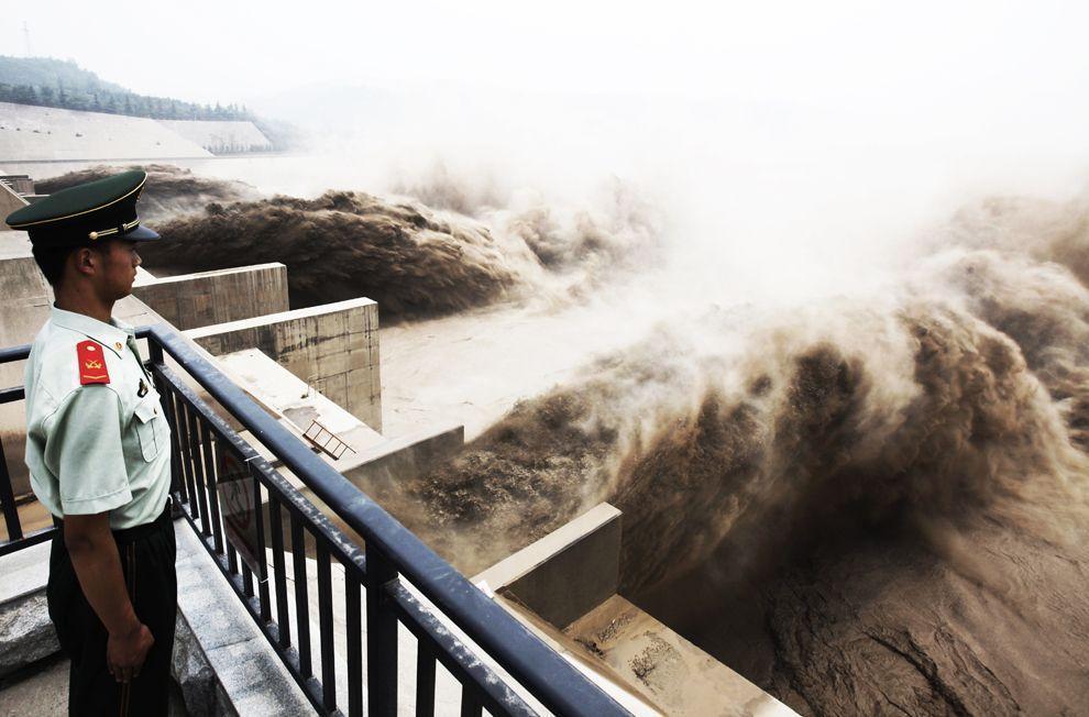 HuangHe01 Грандиозное зрелище на реке Хуанхэ