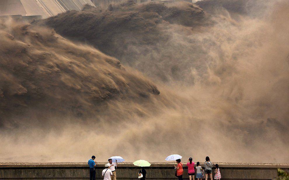 HuangHe02 Грандиозное зрелище на реке Хуанхэ