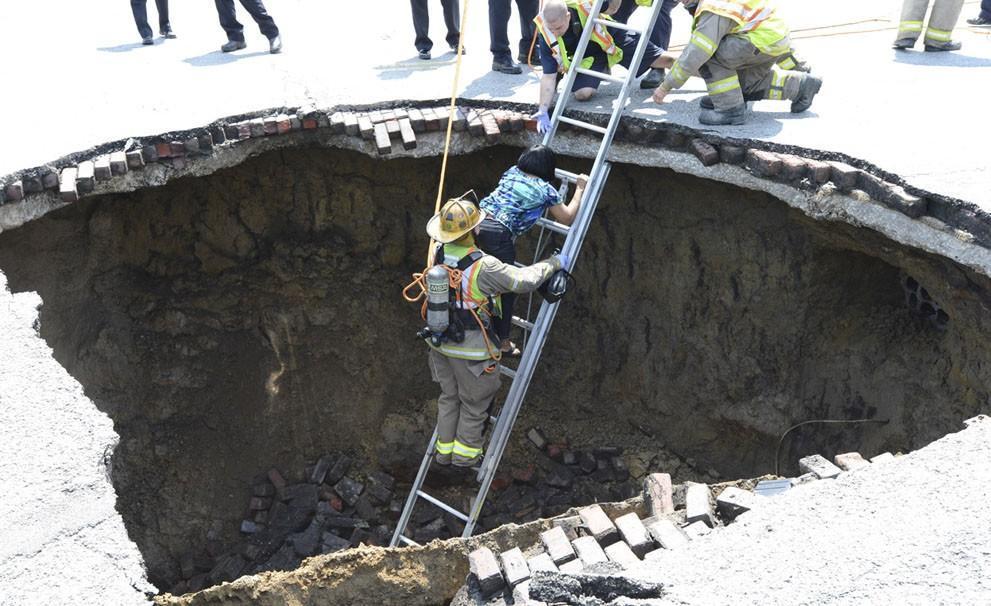 Sinkholes02 Карстовые воронки   когда земля разверзается