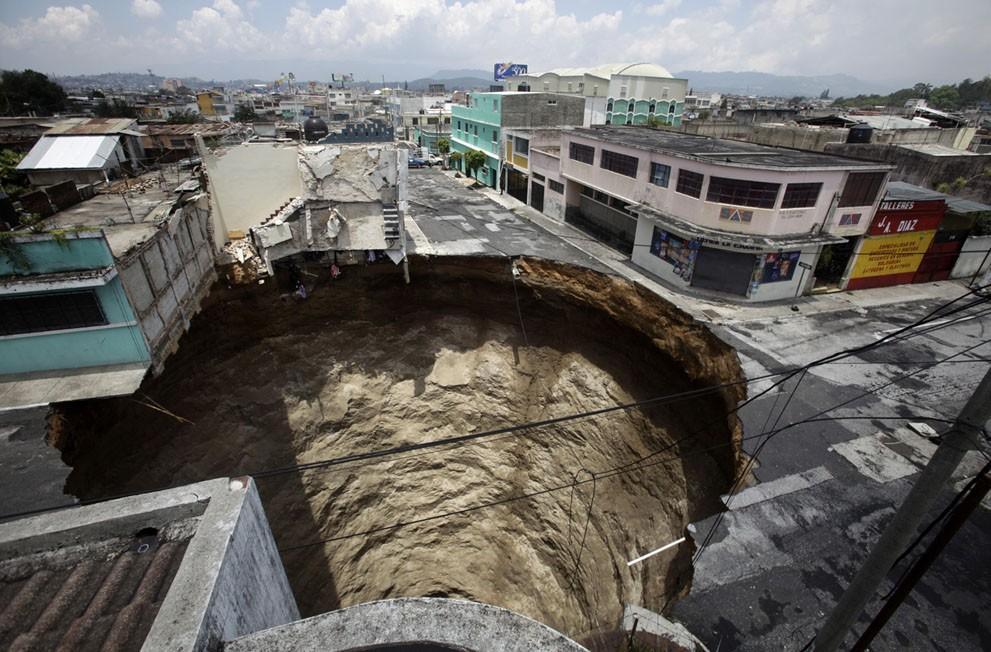 Sinkholes17 Карстовые воронки   когда земля разверзается