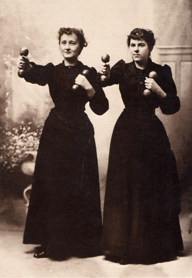 Women 620x895 Как выглядел фитнес начала ХХ века