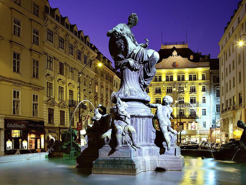donnerbrunnen fountain vienna 2 10 мест, где можно загадать желание, и оно исполнится